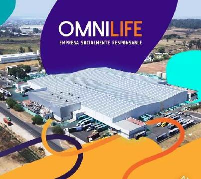 Planta de manufactura Omnilife en Guadalajara.