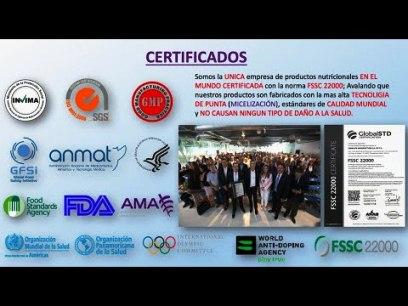 Certificados Internacionales de Omnilife