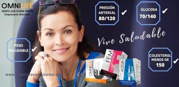 Productos omnilife te ayudan a vivir más sano.