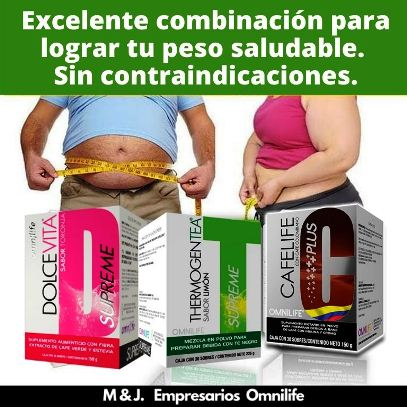 combinación para bajar de peso